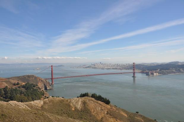 touch down San Francisco