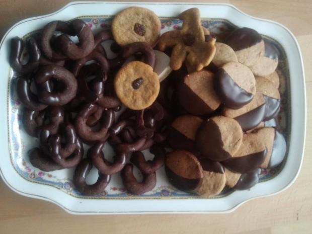 frisch gebacken