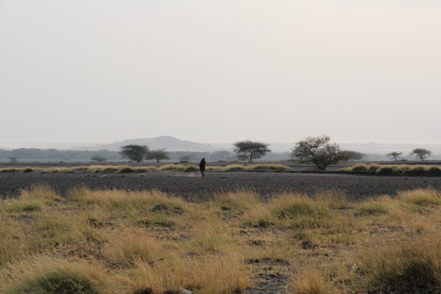 auf den Spuren der Maasai in Lake Natron